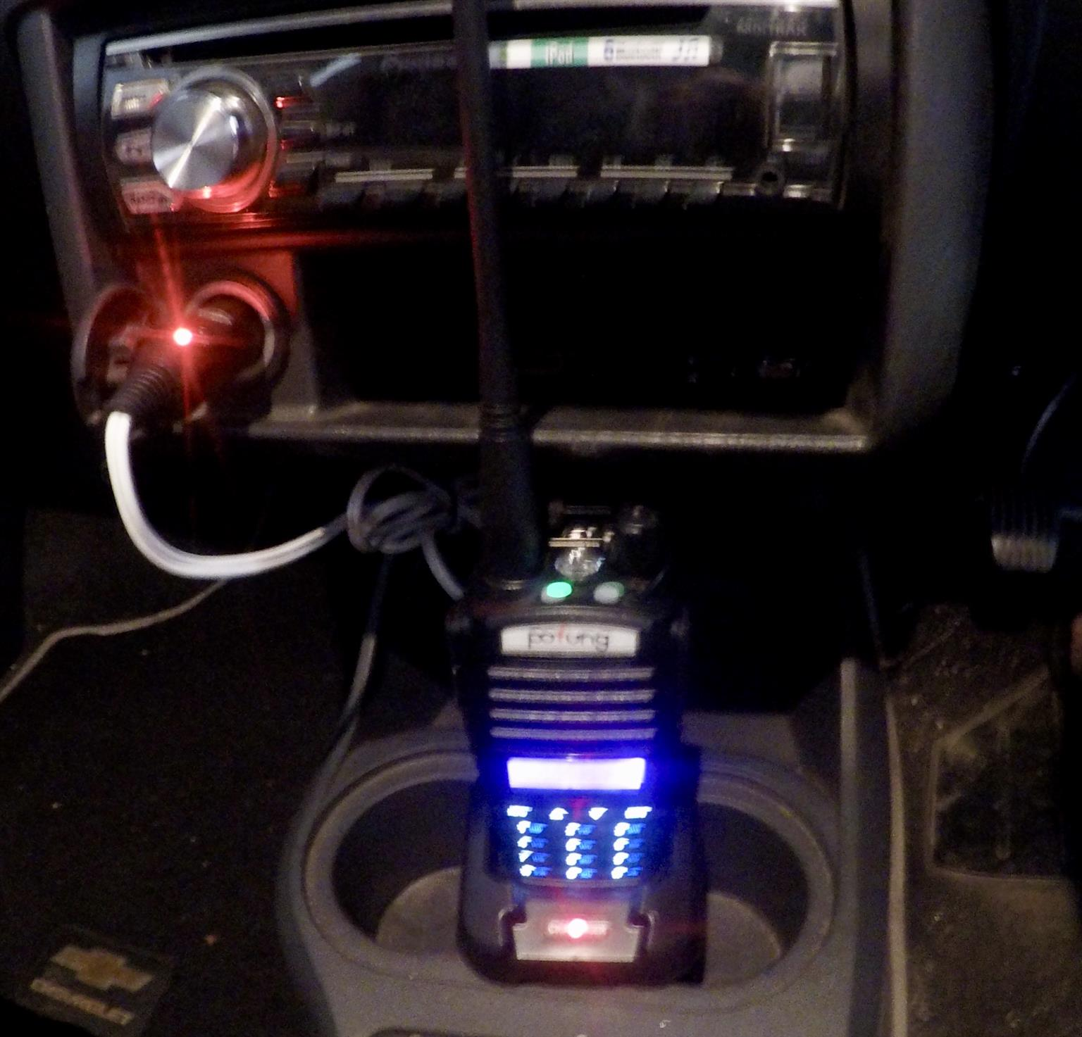 Car Charge Adapter for Baofeng Radio