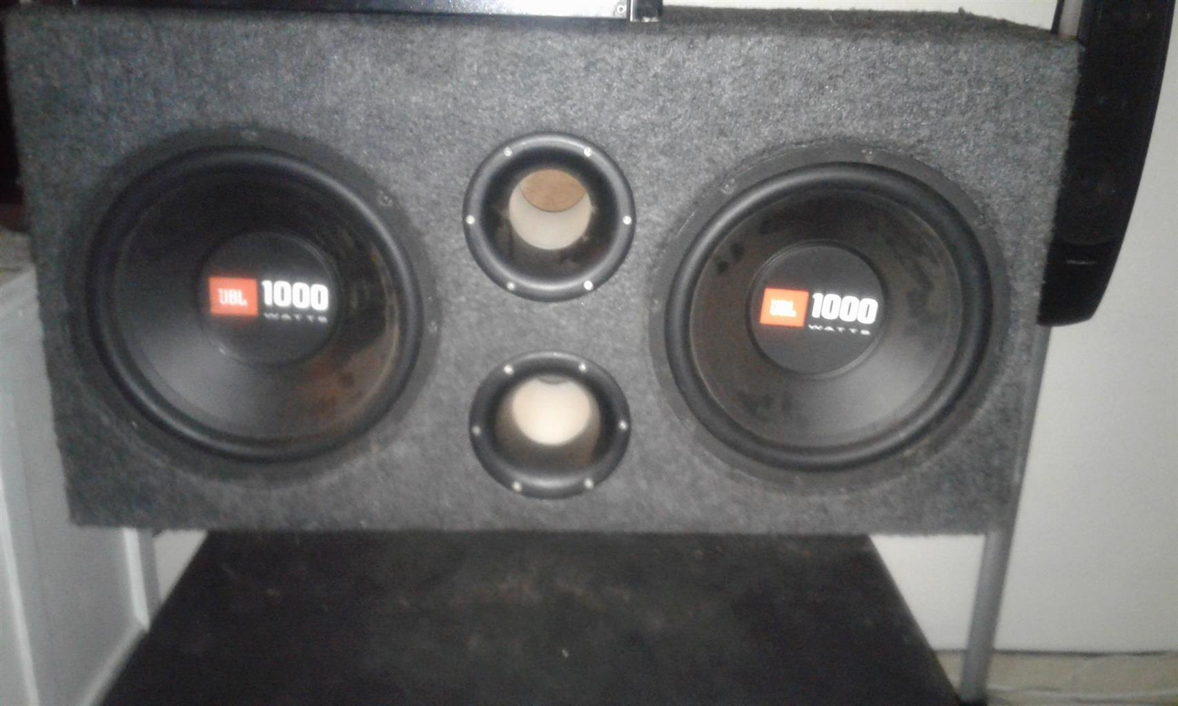 2x 1000 watt UBL subs for sale