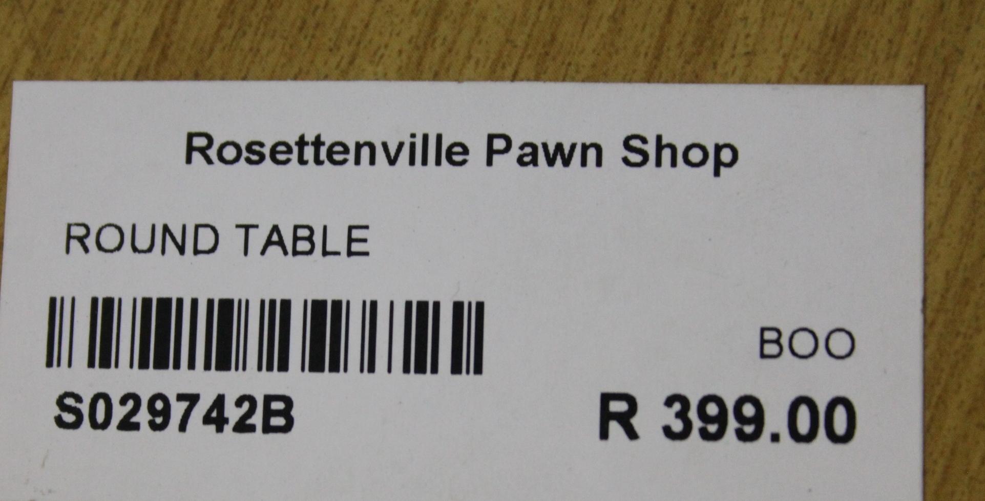 Round table s029742b #Rosettenvillepawnshop