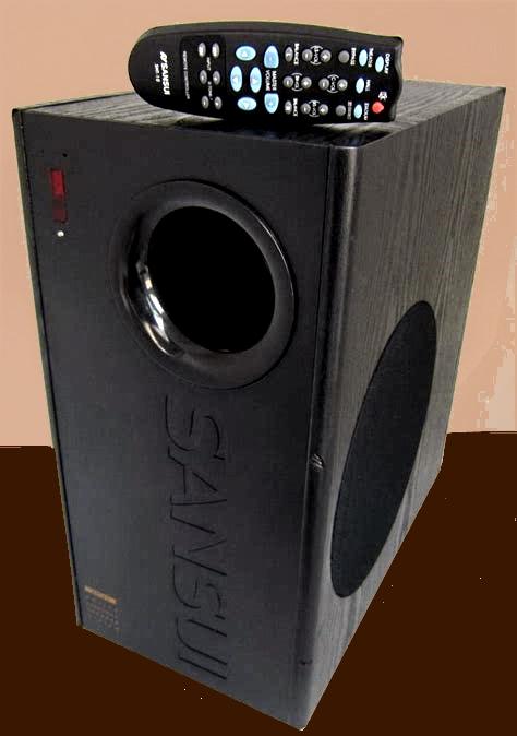 Sansui SHT10 subwoofer built in amp and speaker