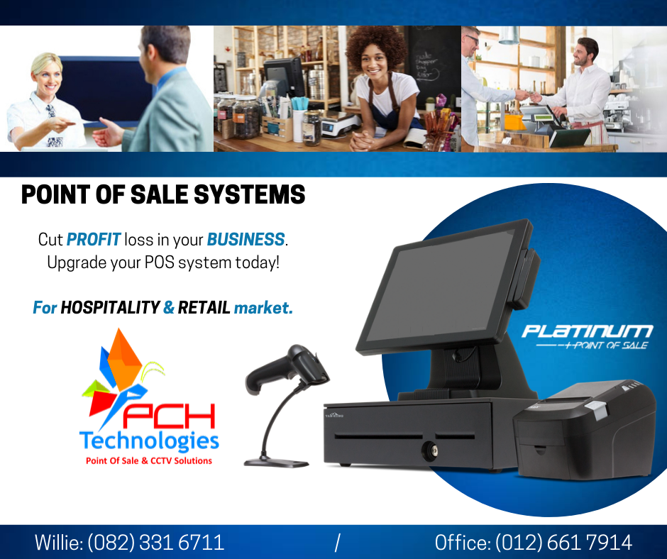 Touch Point of Sale Systems for Retail or Hospitality Market (Free Software)
