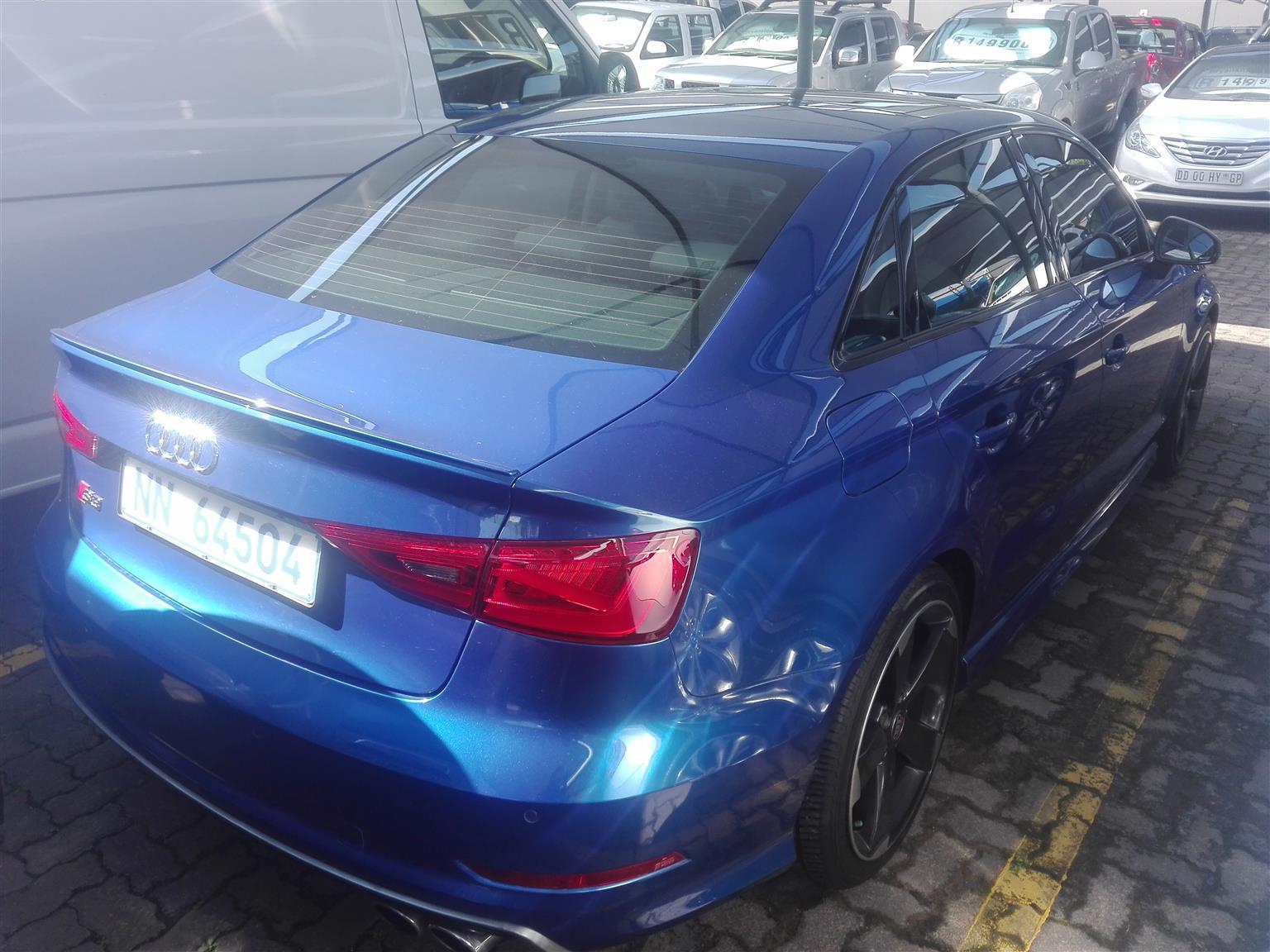 2016 Audi S3 sedan S3 STRONIC