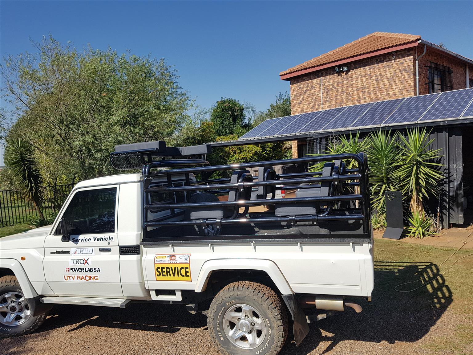 Car Accessories Cattle Rails