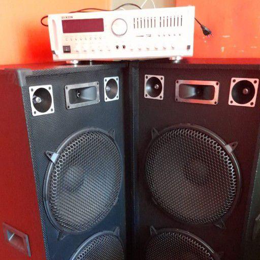 amp en speakers