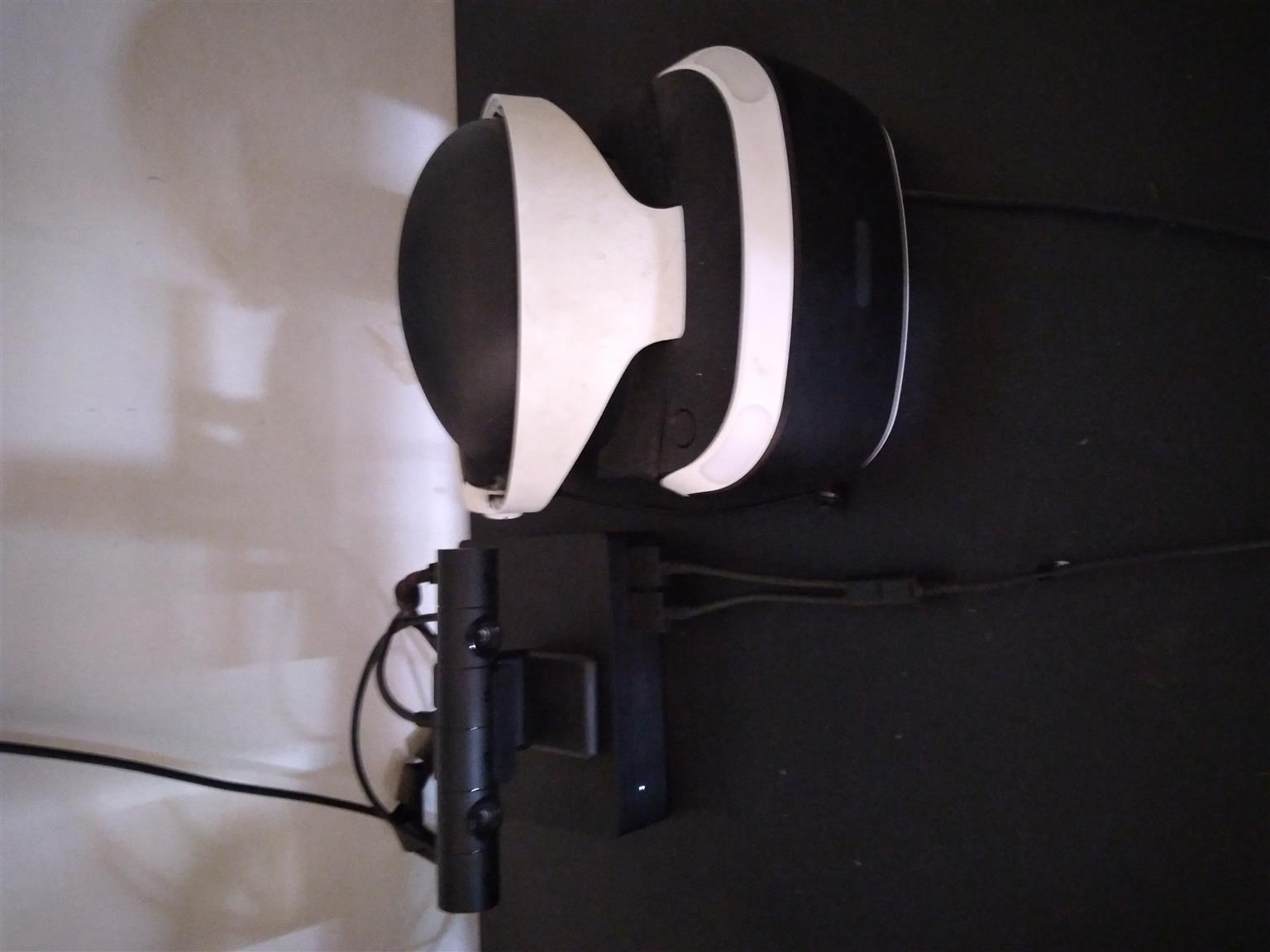 Ps4 vr headset like new