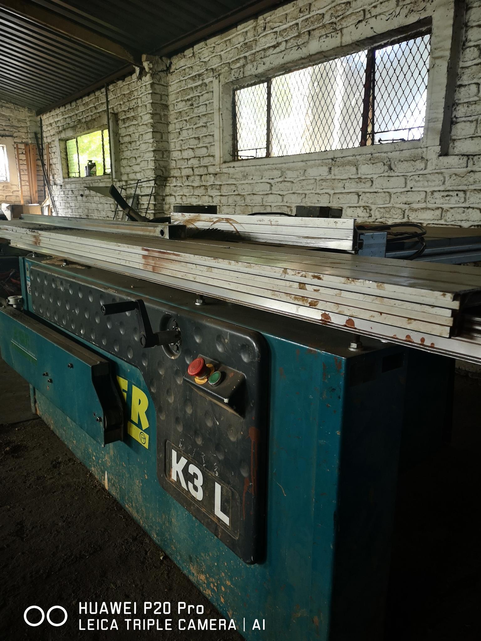 Woodworking machinary