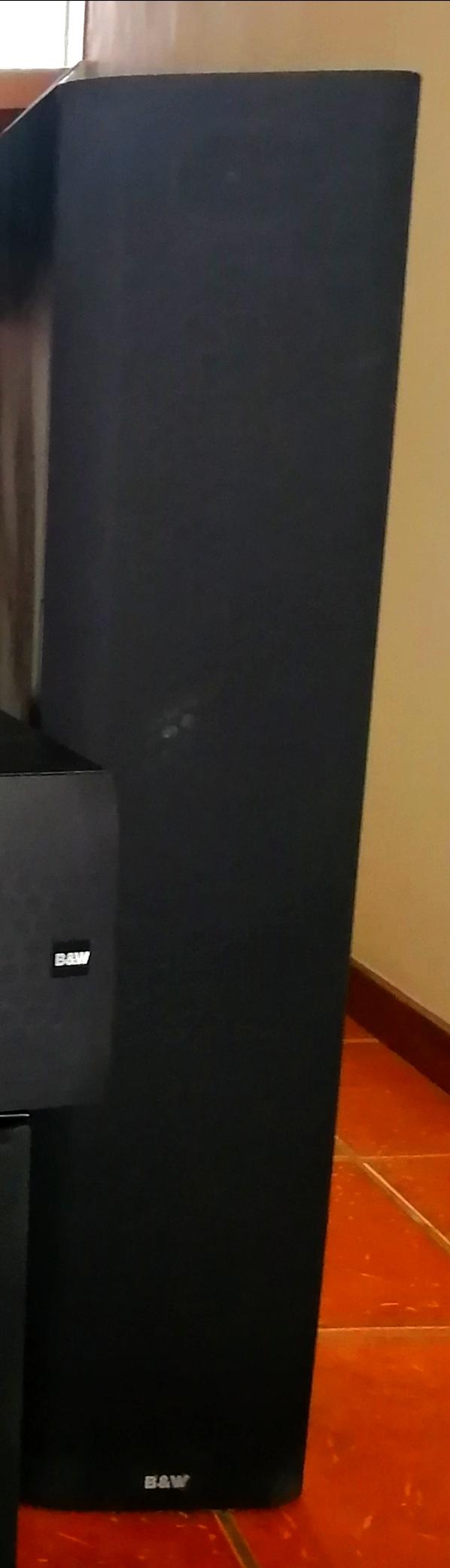 B&W Surround speaker system