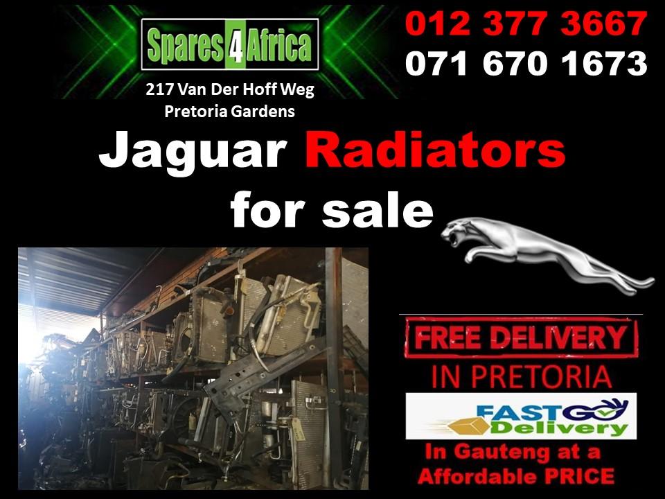 Jaguar radiators XF for sale