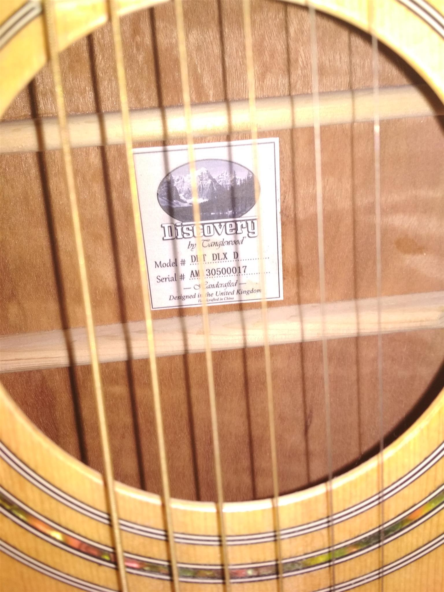 Tanglewood acoustic guitar & Ritmüller electric guitar and accessories