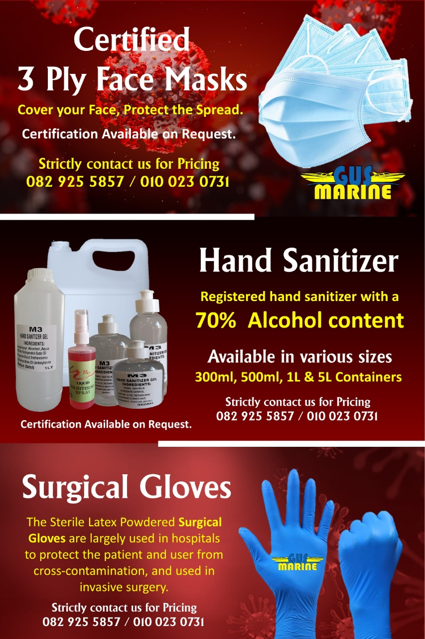 Gus Marine - Sanitizer Products