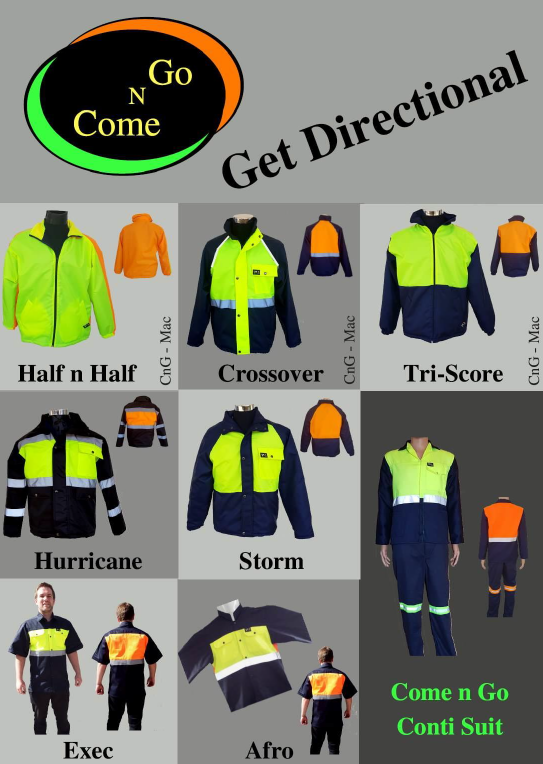 Mild and Galvanized steel, safety wear, PPE, corporate wear and gifting,  branding