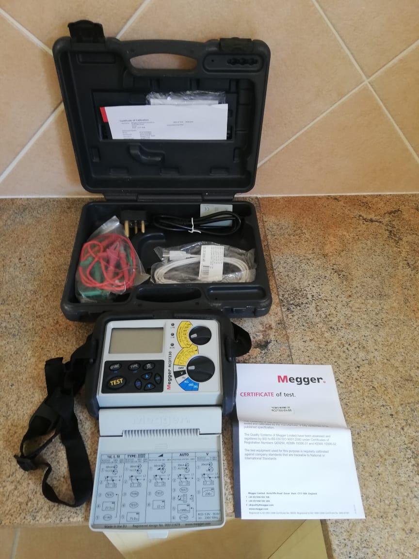 Megger electrical tester