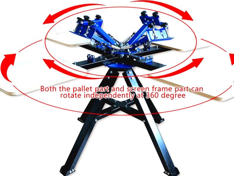 SP-S0 ScreenMaster Table-Mountable Desktop Single Colour T-Shirt Screen Printer Screen