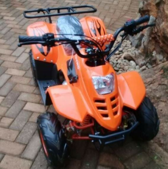 Quad Bike 125cc Junior 4 Stroke Automatic with Reverse - with Free Back Rack