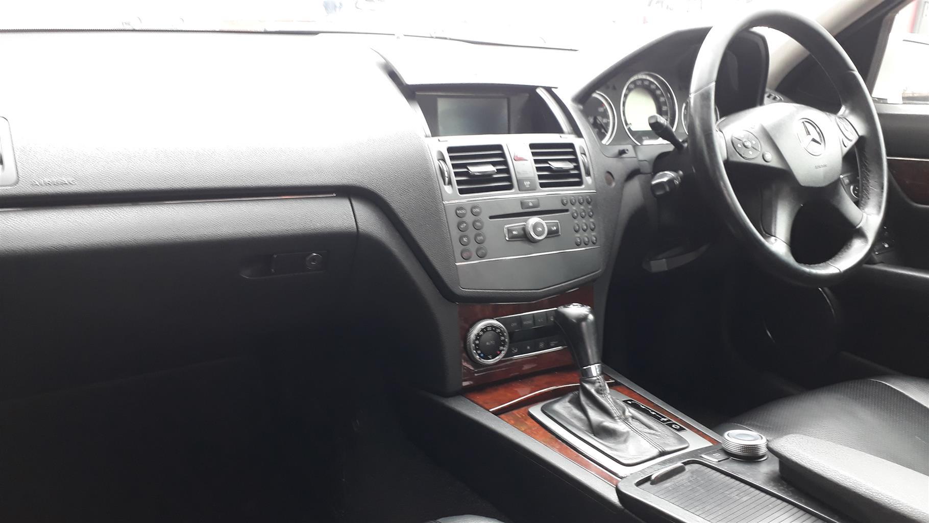 2009 Mercedes Benz C Class C180 Kompressor Avantgarde