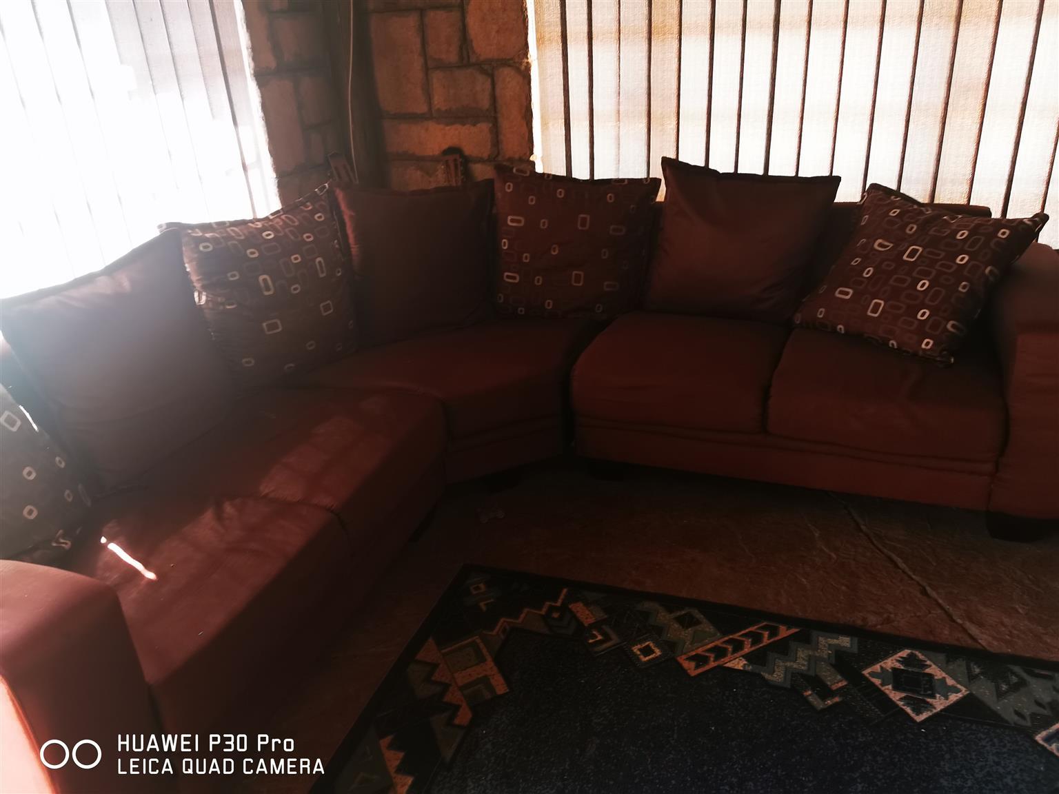 Corner unit couch