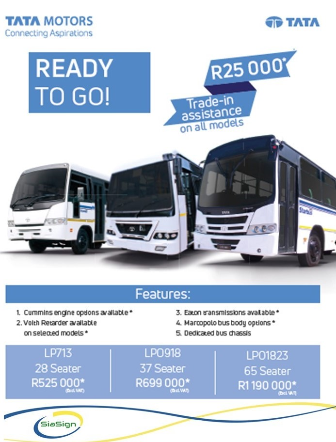 TATA BUses on special