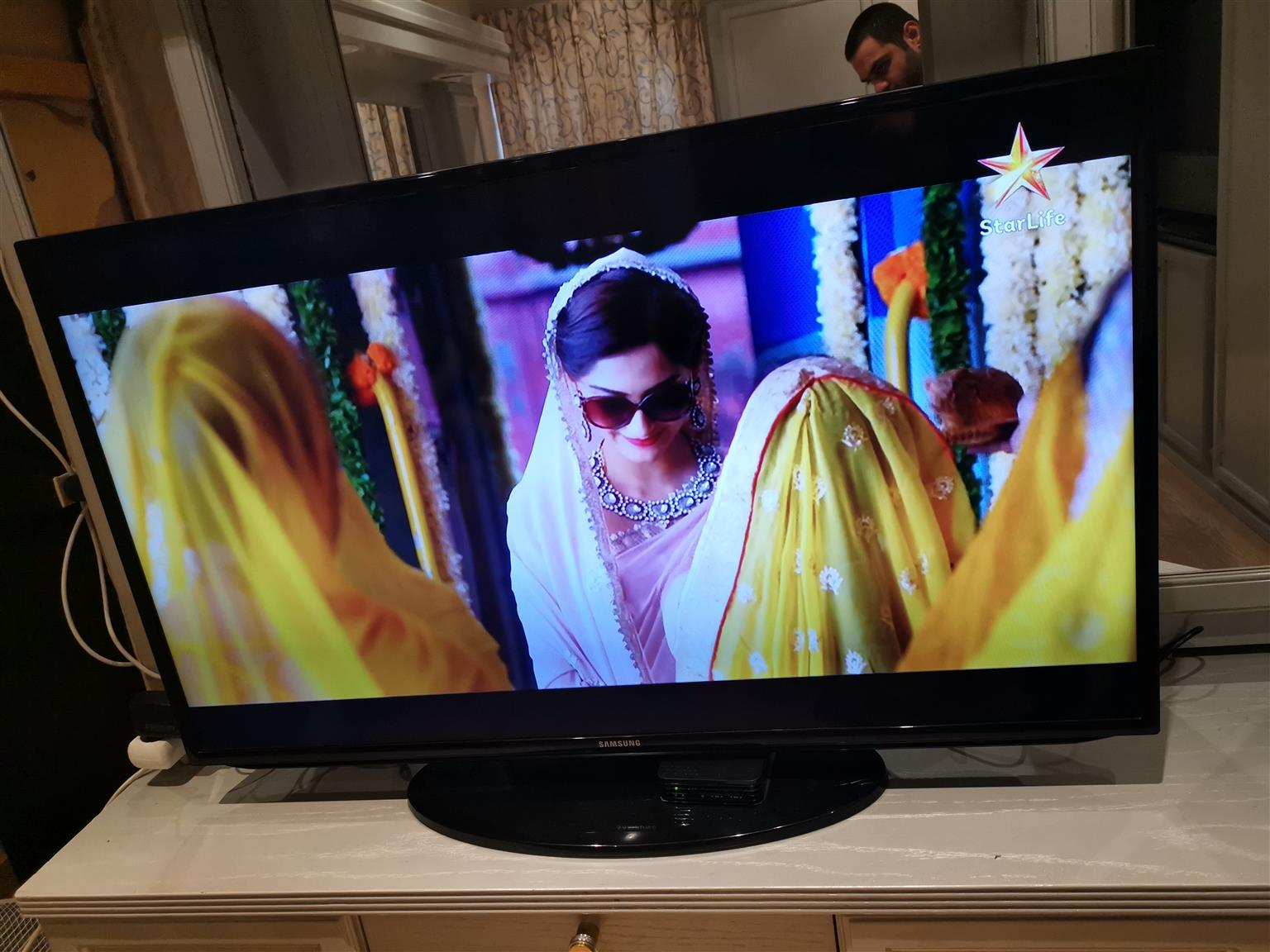 Ongekend Samsung 46 inch smart Fhd led tv in perfect condition includes FW-58