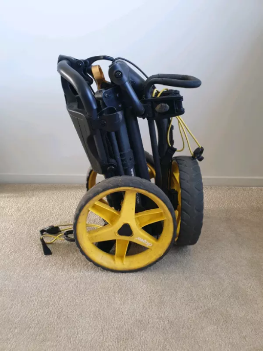 Srixon Golf Clubs and Buggy