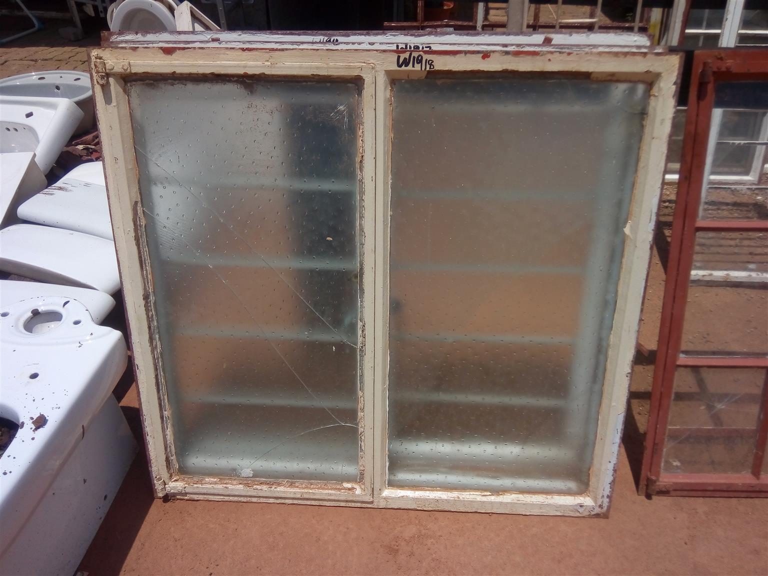 2nd steel window