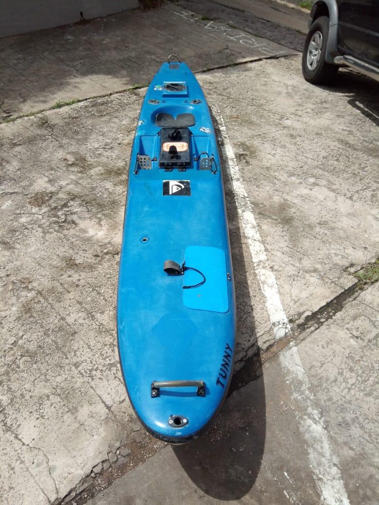 Fishing Kayak - Eric Tunny