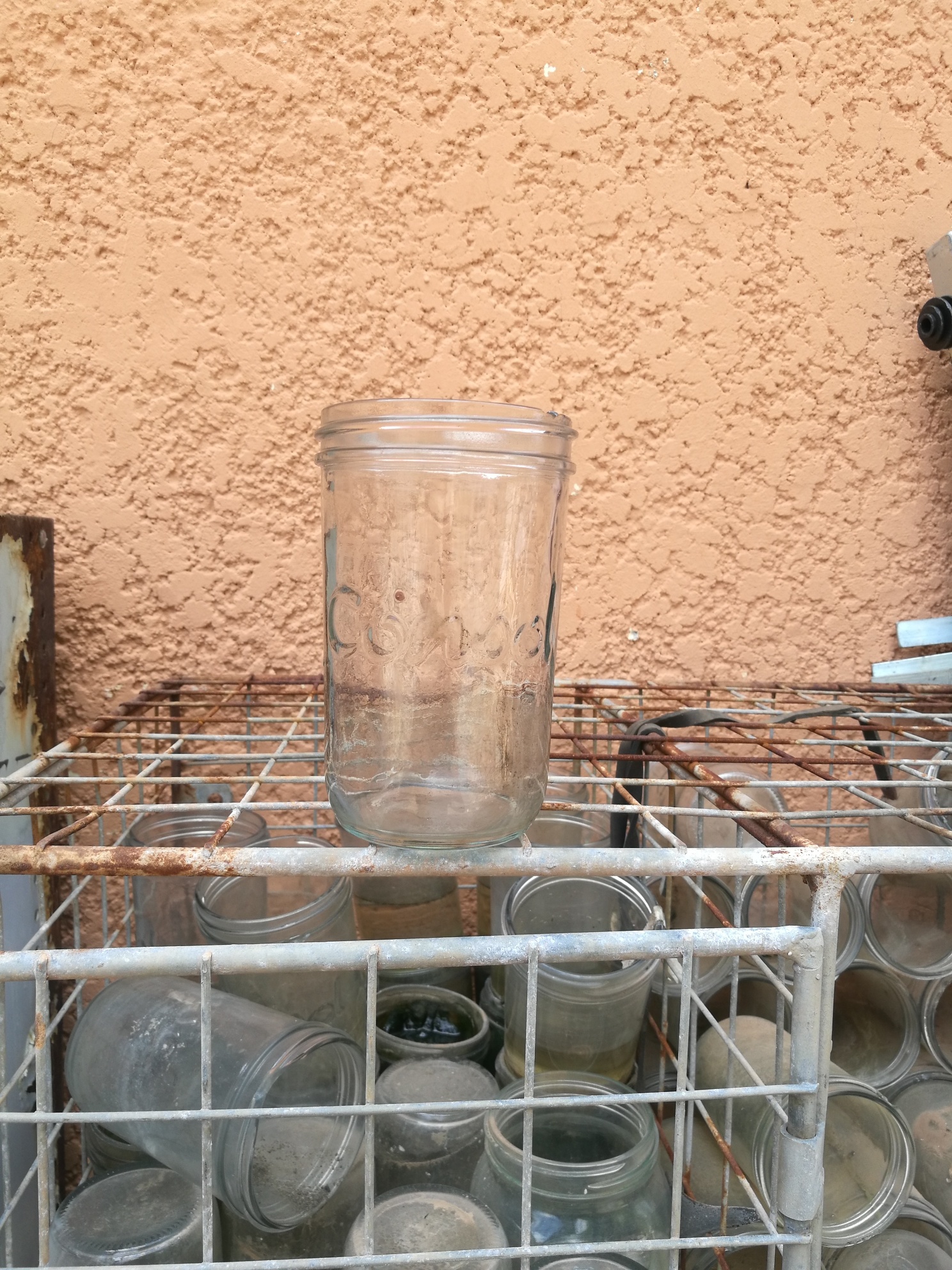 Costal Glass Jars lids Can still get at checkers for the jars please make a offer and the shelve. call steve 0832265788