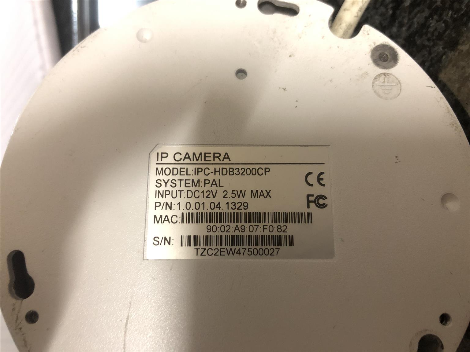 Dahua IP camera for sale