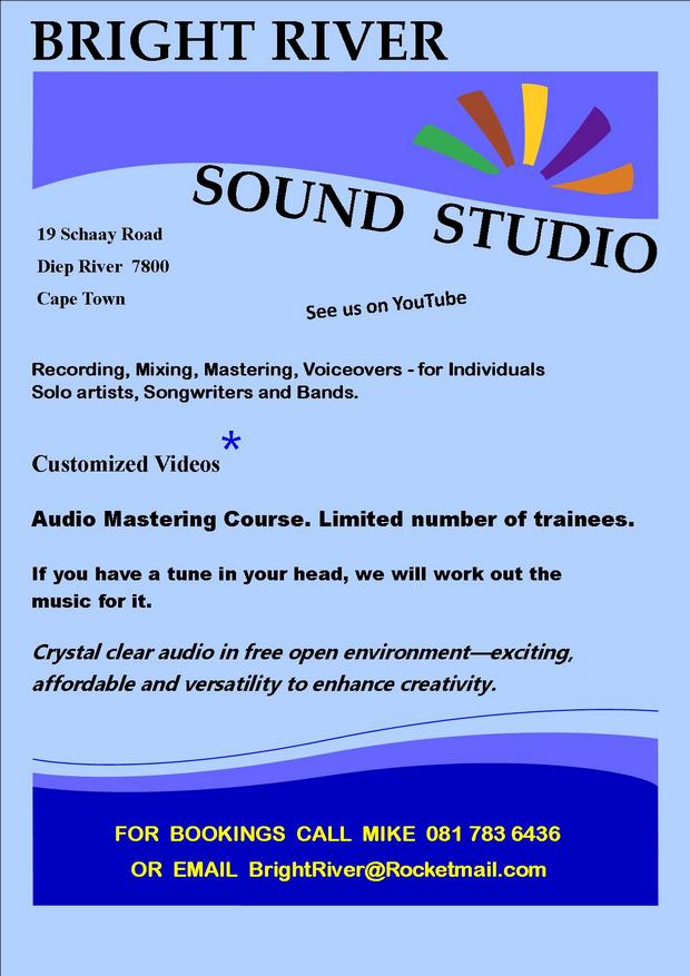 Bright River Audio Mixing & Mastering Course in Diep River