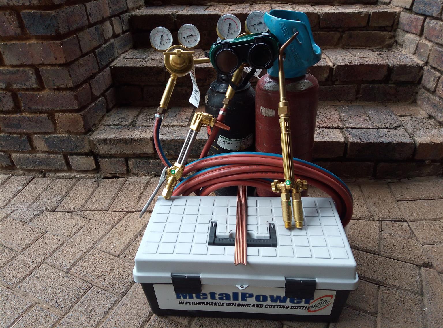 Oxy Acetylene gas welding kit