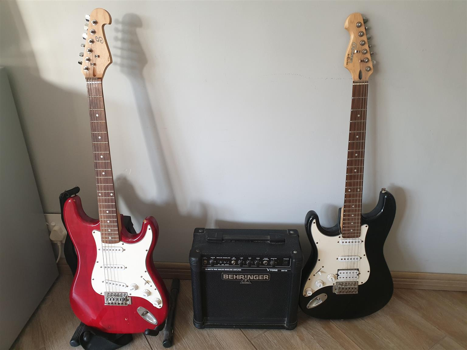 Guitars and Amplifier