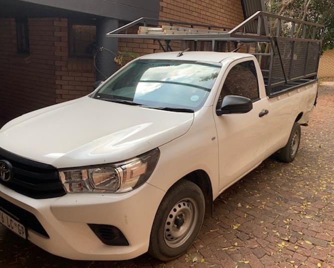 Bakkie Rails for Toyota LWB for sale