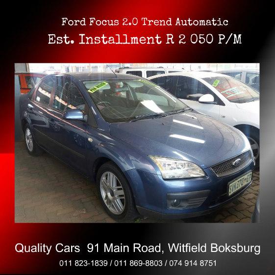 2005 Ford Focus 2.0 4 door Trend automatic