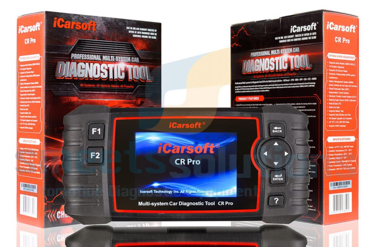 Vehicle code reader / scanner iCarSoft CR pro diagnostic tool