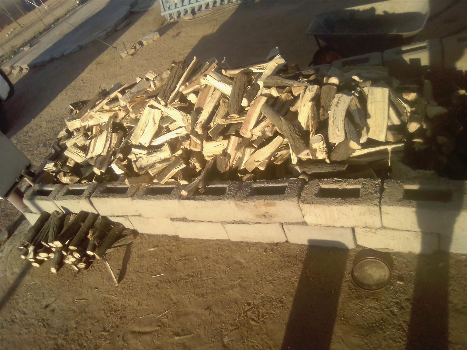 Sekelbos fire wood