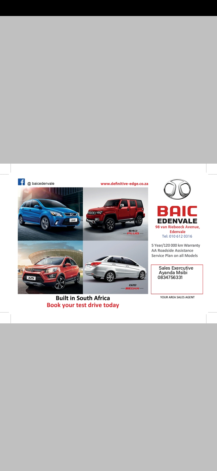 2019 BAIC X25 1.5 Comfort auto