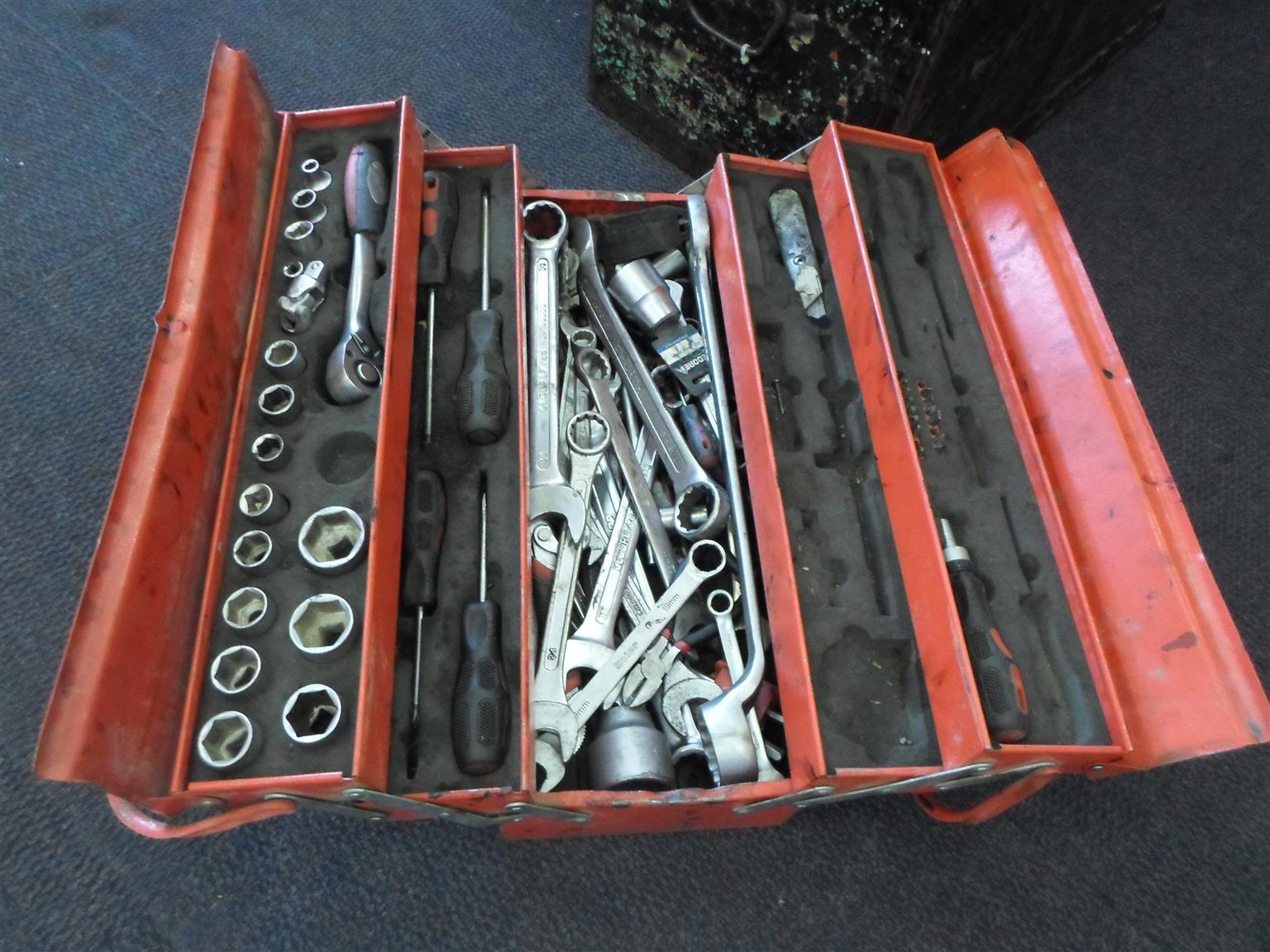 Mixed Gedore and Wurth Tools