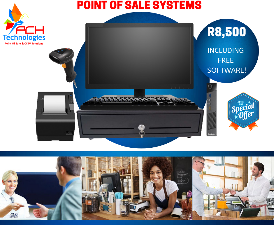 Platinum Point of Sale Systems for Retail or Hospitality Market.