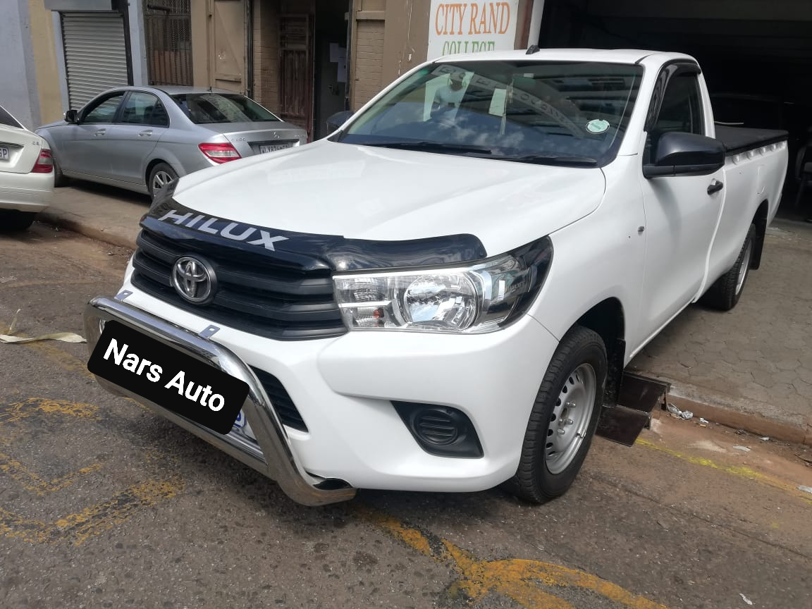 2017 Toyota Hilux single cab HILUX 2.0 VVTi S P/U S/C