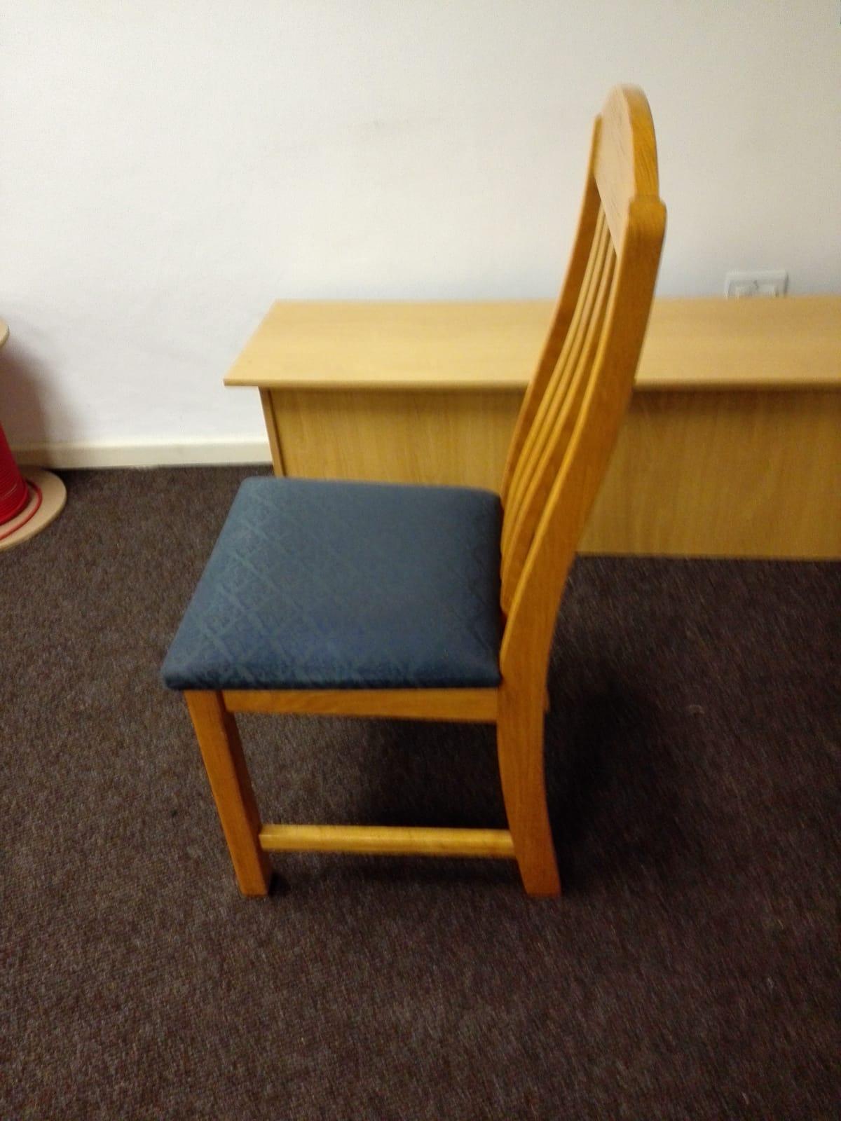 Three dining room chairs