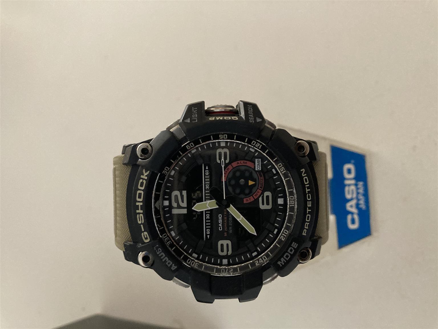 Casio Mudmaster G-Shock