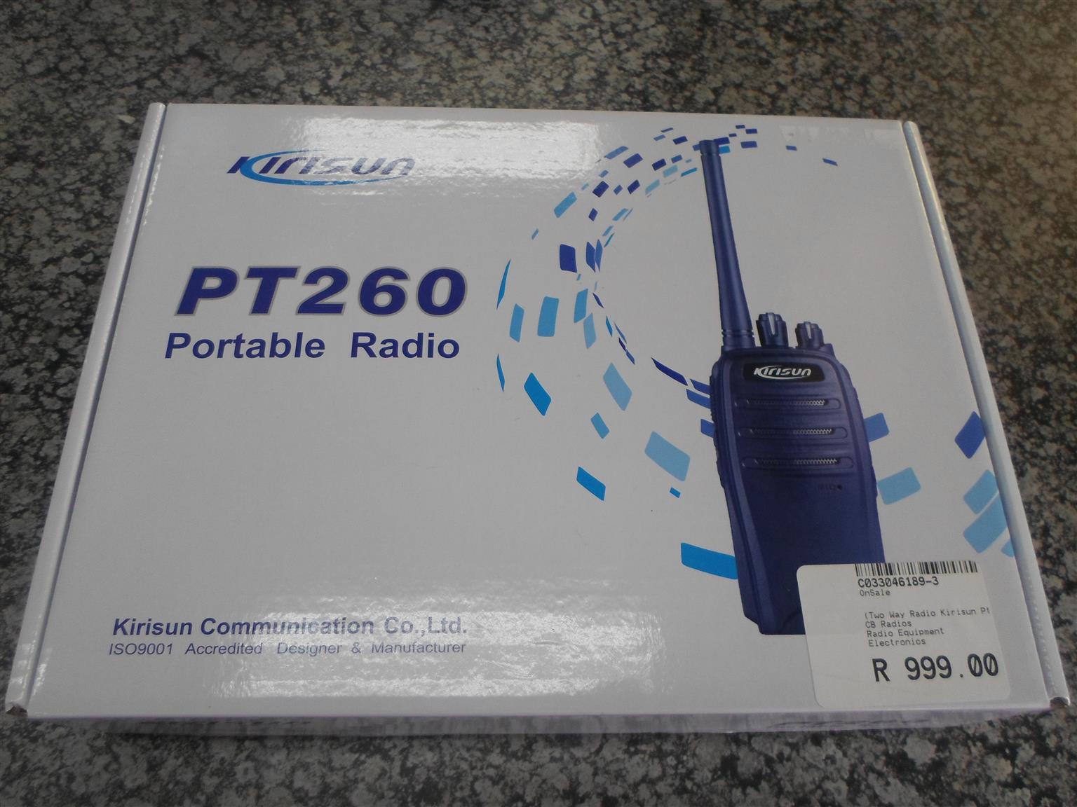 Kirisun PT260 Portable Radio