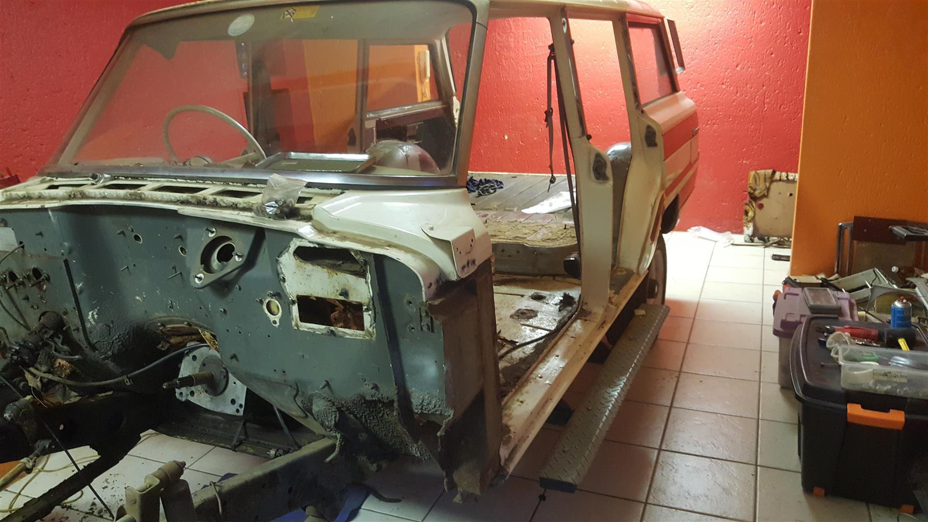 Jeep Wagoneer (Kaiser Jeep) 1964