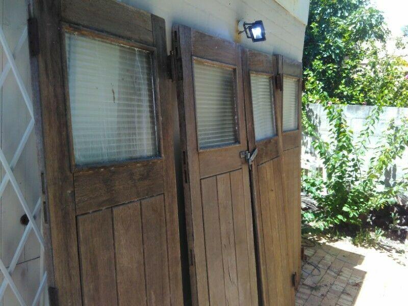 Vintage Single Garage Door