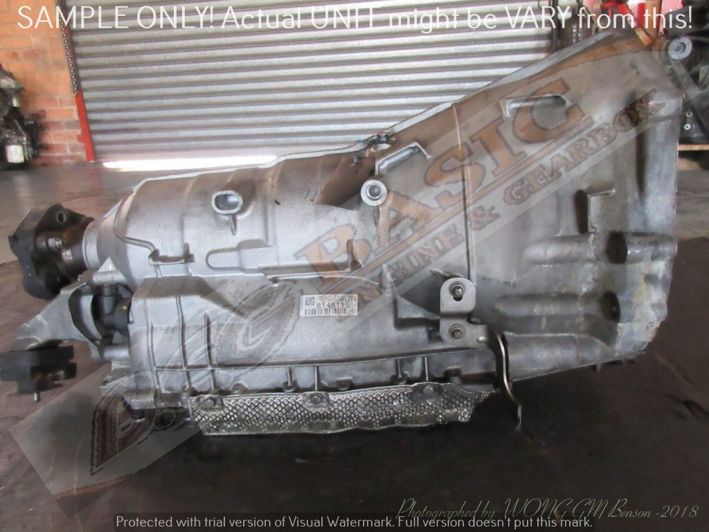 BMW N46B20BE -2.0 6HP-21 2WD AUTO RWD Gearbox -318i E90