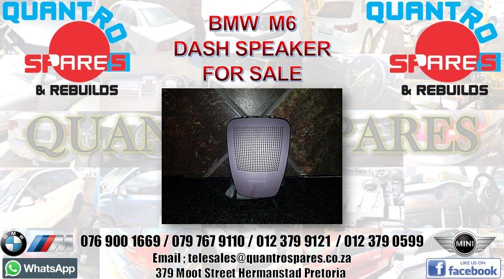 bmw m6 dash speaker for sale