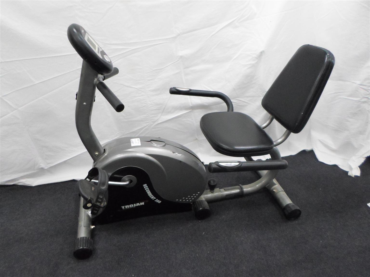 Trojan Recumbent 300 Gym Bicycle