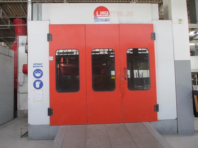 Usitalia Spray booth - ON AUCTION