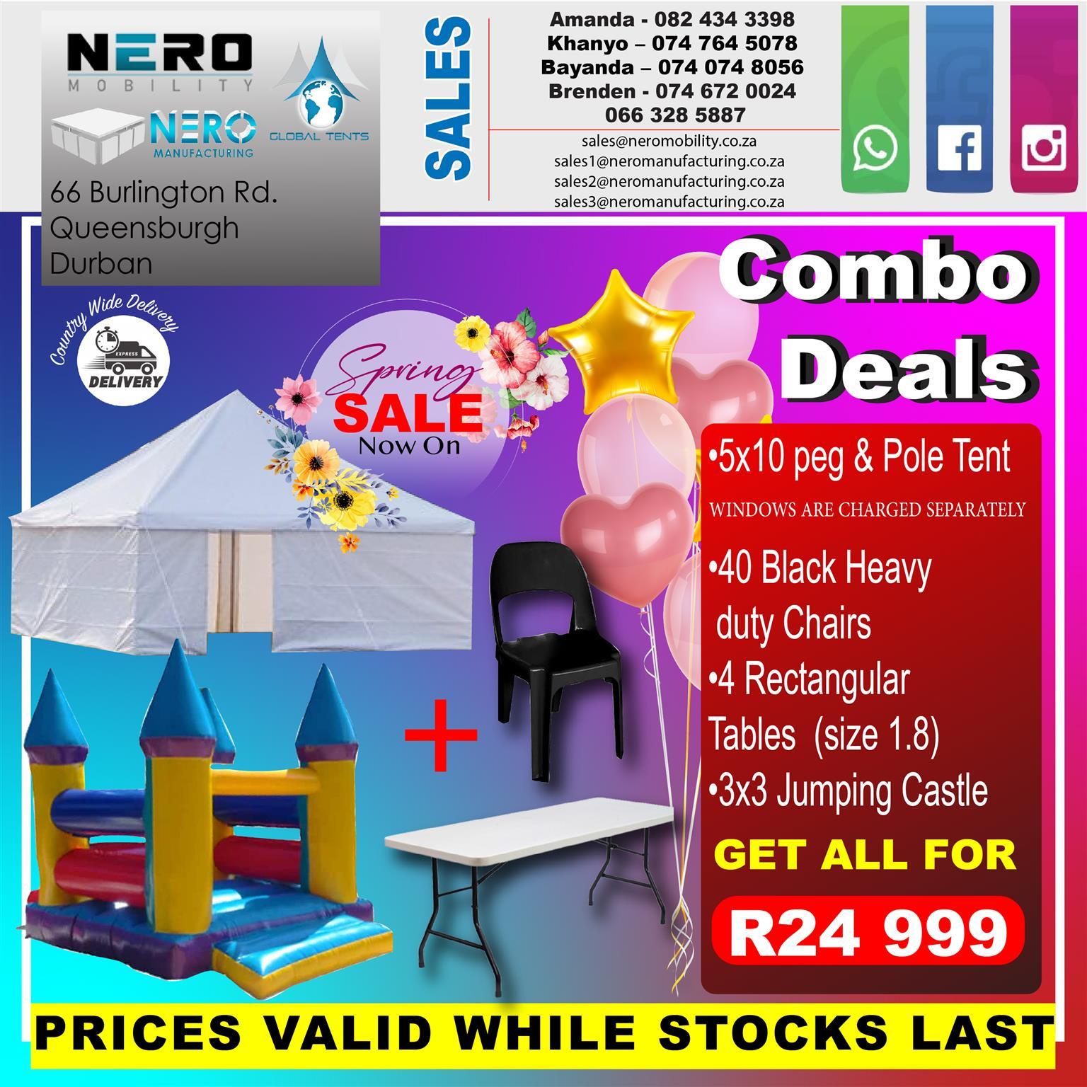 Peg & pole combo deals