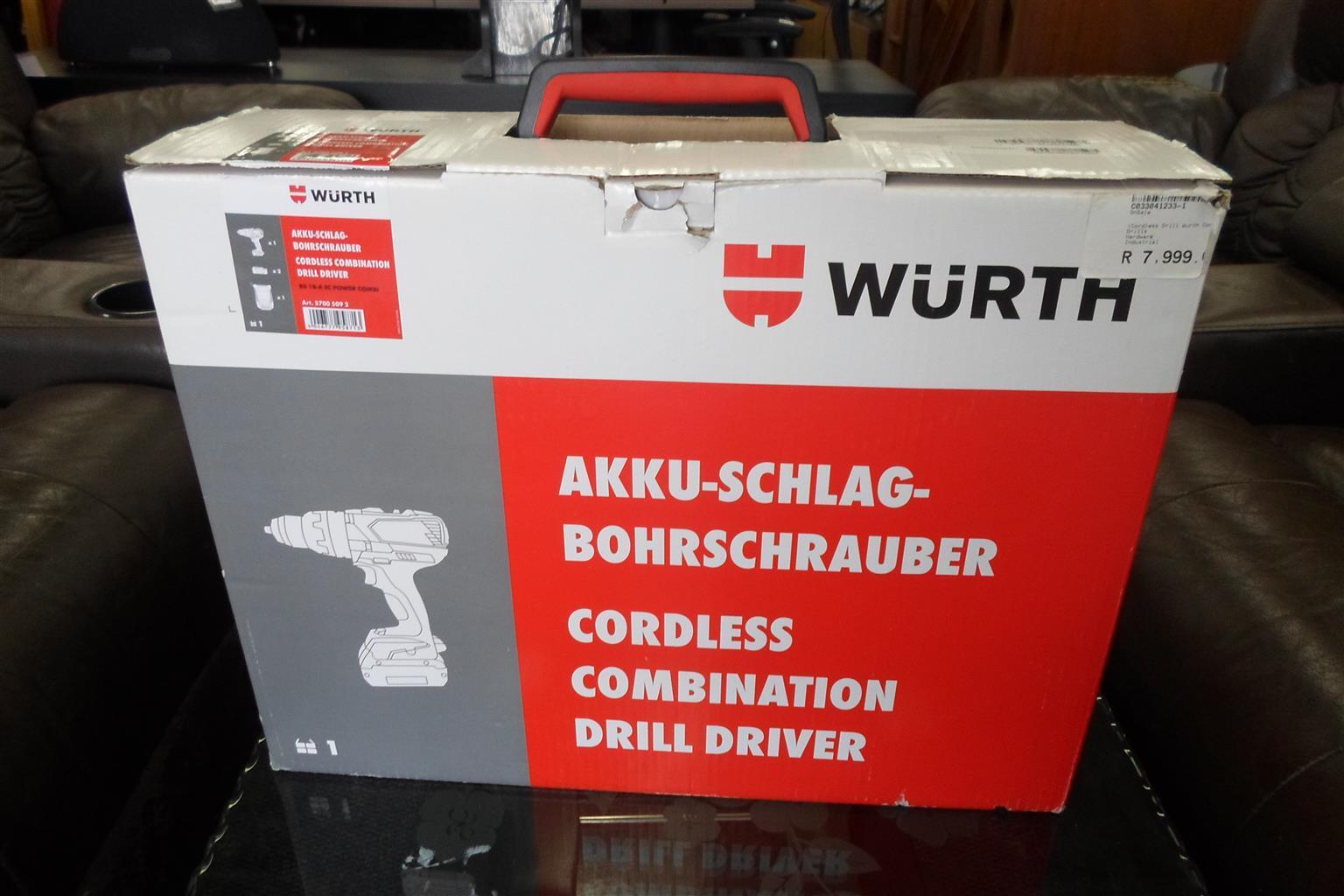 Wurth Cordless Drill