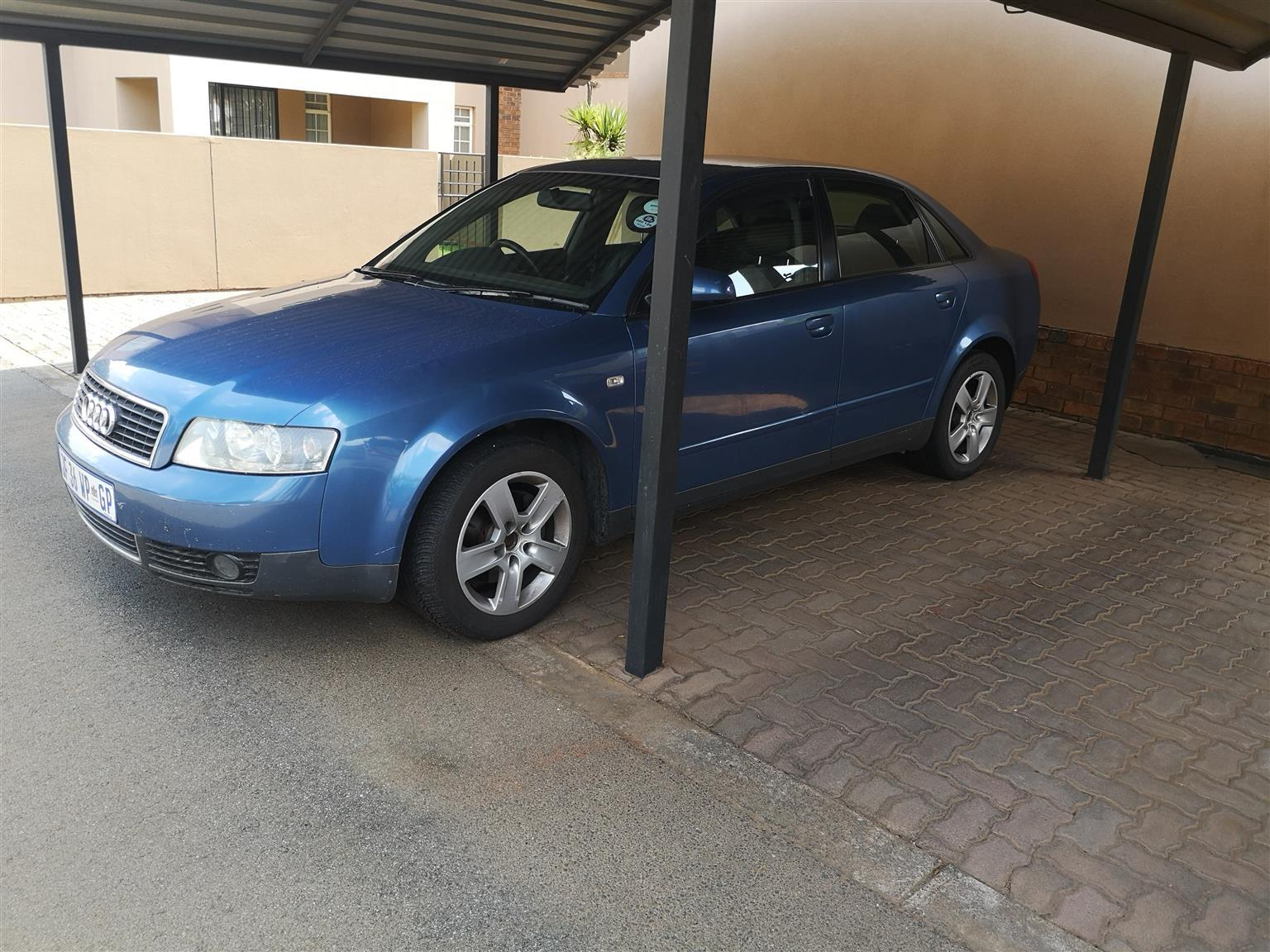 2001 Audi A4 2.0
